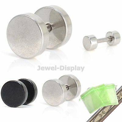 Circle Nipple Barbell Ring Bar Body Piercing Earring Jewellery JB116
