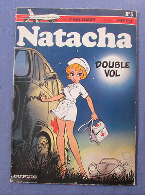 Vintage 1978 Natacha By F Walthery Comic No 5 In French
