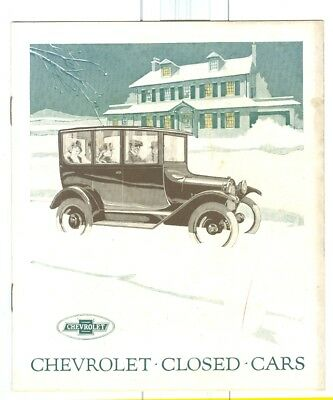1920s Chevrolet Closed Cars