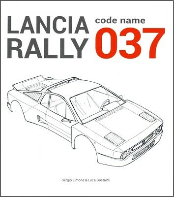 Lancia Rally Code Name 037 (homologation development evolution data) Buch book