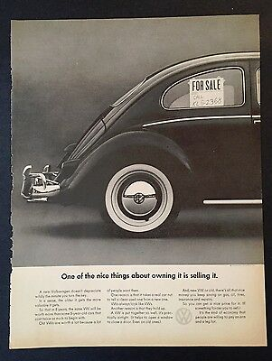 Volkswagen about owning it is selling it Advertisement