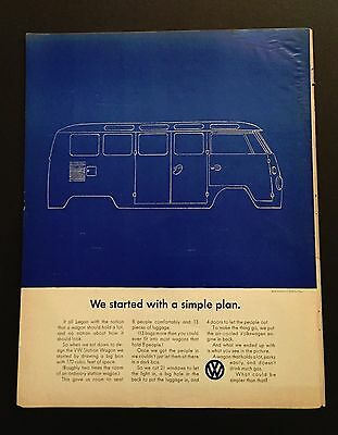We started with a simple plan Volkswagen Advertisement 1967