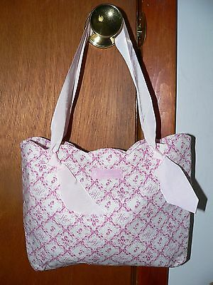 Longaberger Horizon Of Hope Pink Ribbon Tote - New