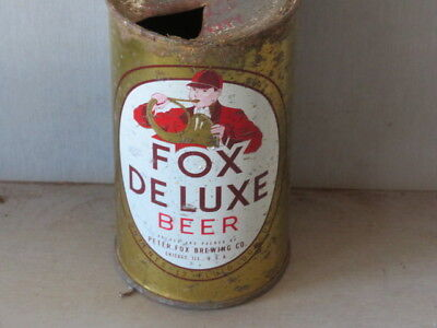 Fox. Deluxe.  Beer.  Colorful. Chicago. Flat Top