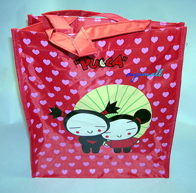 Pucca+Garu zipper school hand bag-cute