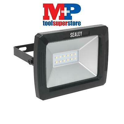 Sealey LED080 Flood light with Wall Bracket 10W SMD LED 230V