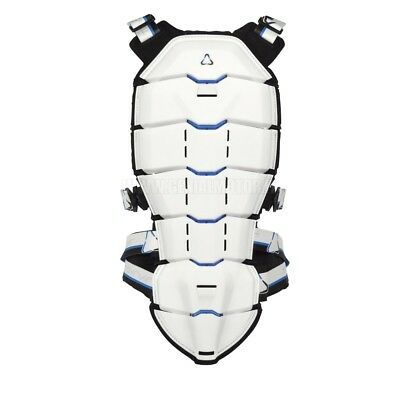 Revit Tryonic Back Protector See+ Tpb003 White Blue Size M