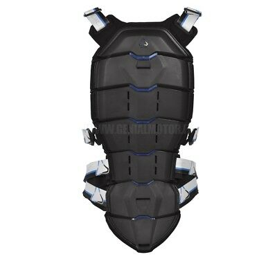 Revit Tryonic Back Protector See+ Tpb003 Black Blue Size S