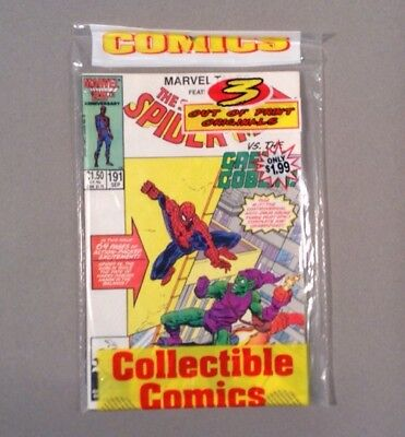 MARVEL Out Of Print Originals UNREAD FACTORY SEALED RETAILER 3-PACK *NM 1986