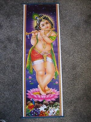 Colourful Wall Hanging Of Lord Krishna
