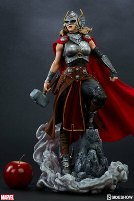 Sideshow Marvel Comics Thor Jane Foster Premium Format Figure Statue In Stock