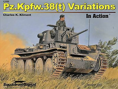 20307a/ Squadron Signal - In Action 52 - Pz.Kpfw. 38 (t) Variations - TOPP HEFT