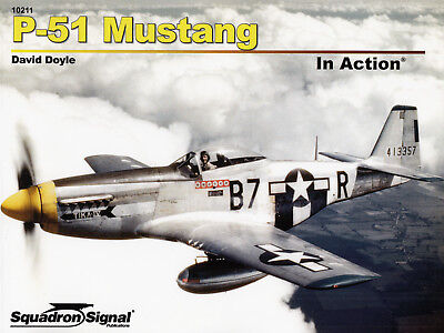 200c/ Squadron Signal - In Action 211 - P-51 Mustang - TOPP HEFT