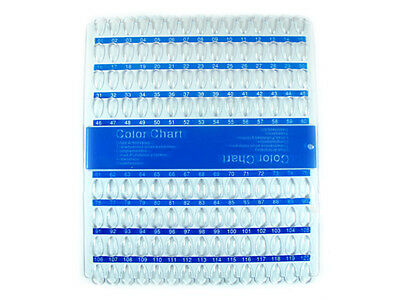 XXL Präsentations 120 Color Chart  Display Clear/Blue 3039