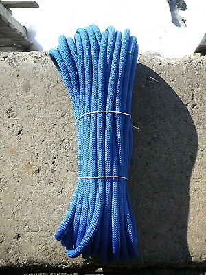 "1/2"" x 75' Kernmantle Static Line,  Low Stretch Rope Climbing, Rappel, Tag Line"