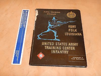 1965 Us Army Training Center Infantry Yearbook: Fort Polk Louisiana