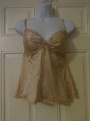 Vintage Retro Delectables Maidenform Camisole Union Made Style 65003 USA Size 36