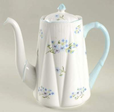 Shelley BLUE ROCK (DAINTY SHAPE) Coffee Pot 916576