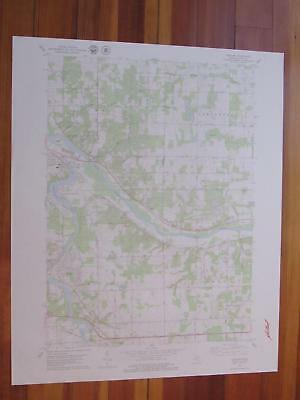 Cascade Michigan 1979 Original Vintage USGS Topo Map