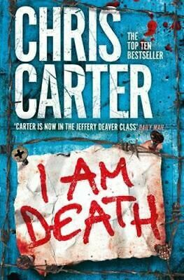 NEW I am Death By Chris Carter Paperback Free Shipping
