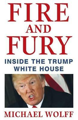 NEW Fire and Fury By Michael Wolff Paperback Free Shipping