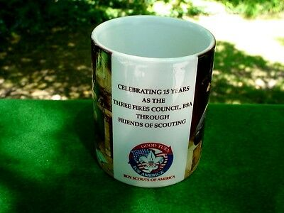 BOY SCOUTS OF AMERICA BSA Mug by Norman Rockwell Building for tomorrow USA