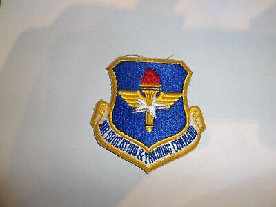 Military Patch Sew On Pocket Us Air Force Air Education & Training Command Color