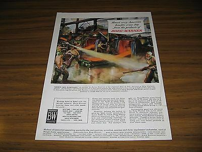 1945 Print Ad Borg-Warner Ingersoll Steel Co. West Pullman,IL