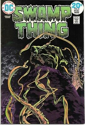 Swamp Thing Comic Book #8 DC Comics 1974 VERY FINE-