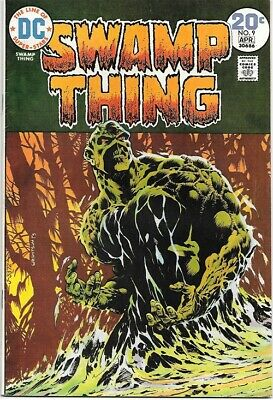 Swamp Thing Comic Book #9 DC Comics 1974 VERY FINE
