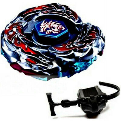 Au L-Drago Destroy Beyblade 4D Top Metal Fusion Fight Master & Launcher Bb-108