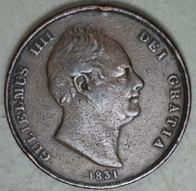 Great Britain 1831 Penny