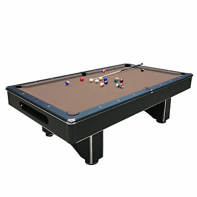 BELLAGIO SLATE POOL Table Foot With Red Felt And Accessories By - Bellagio pool table