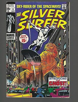 Silver Surfer #8 The Ghost