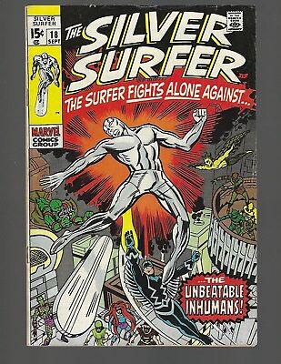 Silver Surfer #18 Kirby-a