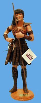 "Xena Warrior Princess George Harlan Porcelain Artist Doll Lucy Lawless 24"" NRFB"