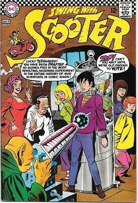 Swing With Scooter Comic Book #7 DC Comics 1967 VERY FINE