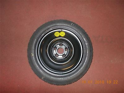 "Genuine Toyota Verso 13-16 17"" Steel Space Saver Spare Wheel 42600-05L01"