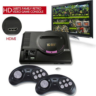 4K 16-BIT Video Games Console HDMI TV Retro HD Video Game Player  For Sega Games