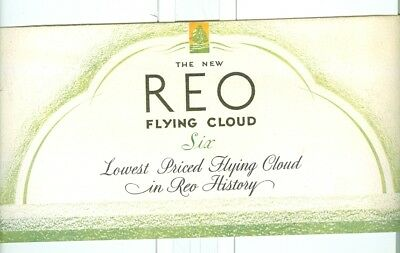 Vintage REO Flying Cloud Automobile