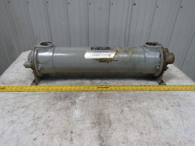 """American Industrial AB-1203-D4-FP Shell & Tube 4 Pass Heat Exchanger 6""""Dx27""""L"""