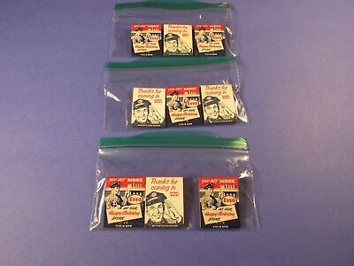 Vintage Esso Advertisement Match Packs