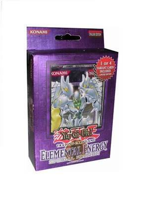 Yu-Gi-Oh! Structure Deck Elemental Energy Special Edition Inglese