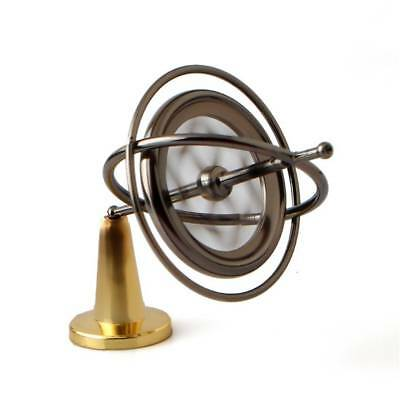 Metal Gyroscope Spinner Gyro Science Educational Learning Balance Toys Gifts