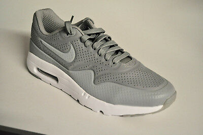 quality design 7a568 43e4a Nike Air Max 1 Ultra Moire 705297-015 Medium Grey White Grau Weiß