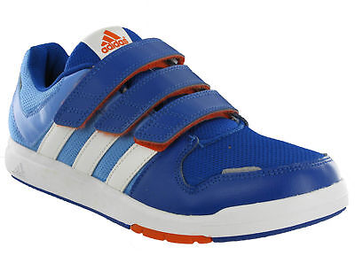 online store 6ab9a 5bb16 Adidas LK Trainer 6 CF Junior Kids Velcro Blue Sports Fitness Casual  Trainers
