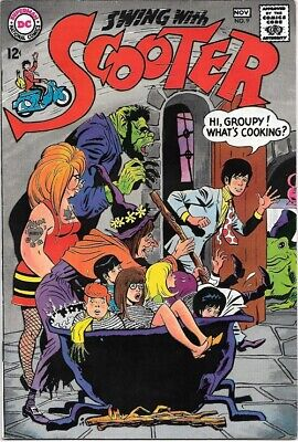 Swing With Scooter Comic Book #9 DC Comics 1967 VERY FINE+