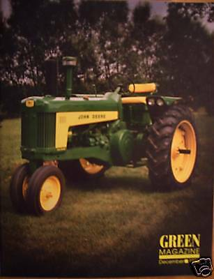 JOHN DEERE Model AR and AO tractor A Orchard - 1996 GREEN Magazine