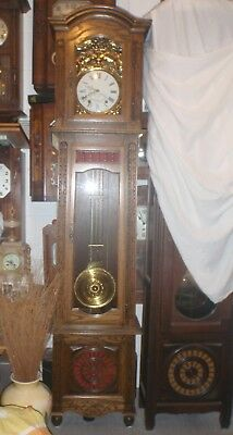 French Longcase Grandfather Clock