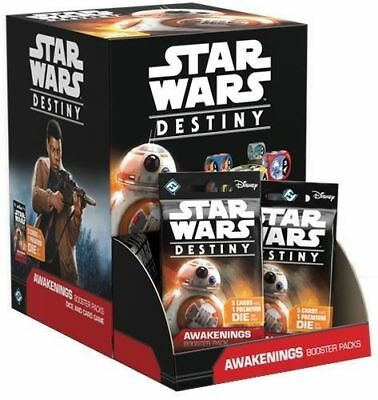 Star Wars Destiny Awakenings Booster Box / Factory Sealed Unopened HOBBY Box